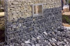 Gabionové steny a koše